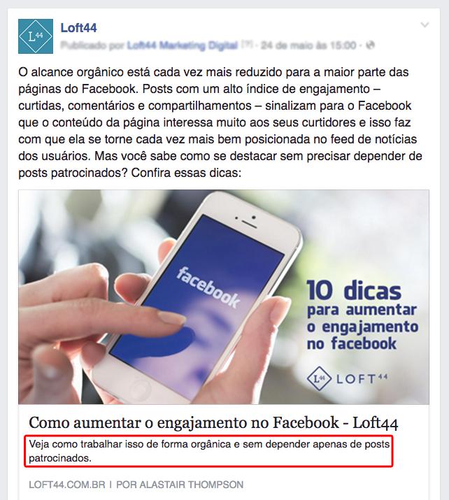 loft44 - aumentar sua visibilidade no facebook