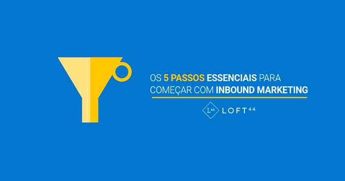 loft44 passos essenciais para começar com inbound marketing