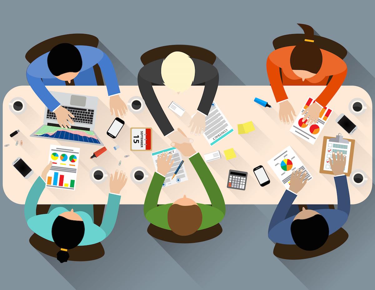 loft44 - Cronograma para construir um site - reunião de equipe