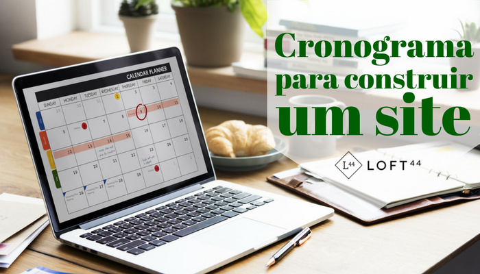 Cronograma para construir um site - ecommerce por Loft44 - Flow Commerce