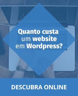 Quanto custa um website em WordPress?